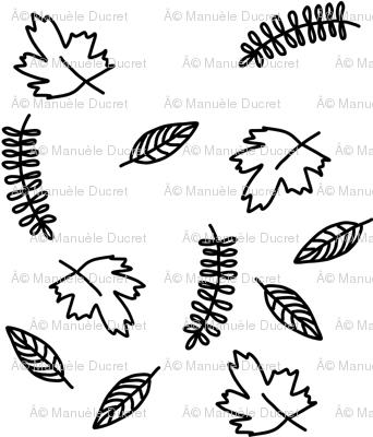 Falling leaves - smaller