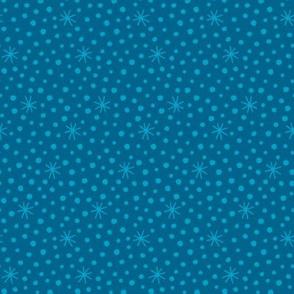 Angels dots blue