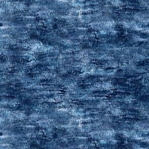 Blue snowstorm pattern