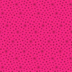 Angels dots pink