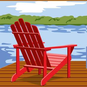 Adirondack panel