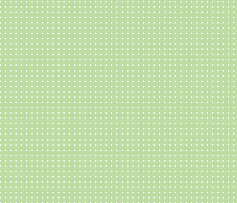 Farm Fresh Green Dot fabric by julie_nutting on Spoonflower - custom fabric