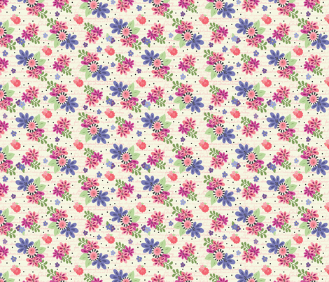 Kindness Garden fabric by julie_nutting on Spoonflower - custom fabric