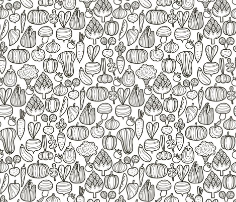 Rfarm_vegetables_bw_pattern_shop_preview
