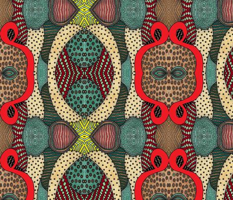 wacky world design fabric by angelheartdesigns on Spoonflower - custom fabric