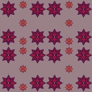 Geometric Dahlias