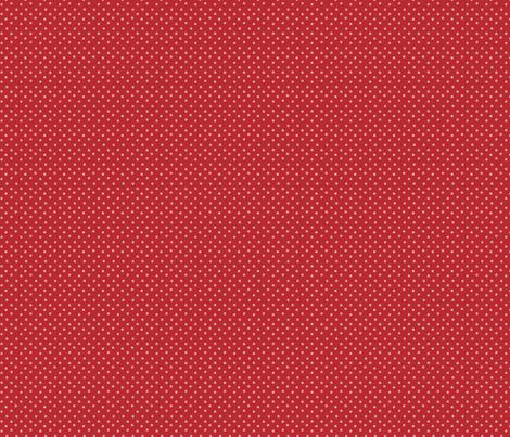 Whimsical Red White Dot fabric by snapdragonandfinn on Spoonflower - custom fabric