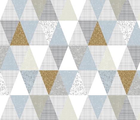 hygge triangles fabric by ottomanbrim on Spoonflower - custom fabric