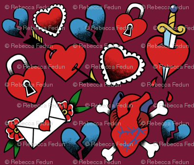 Lovey Tattoo Flash