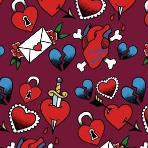 Lovey Tattoo Flash