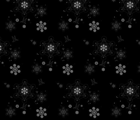 metatron-mandala fabric by sacredheadspace on Spoonflower - custom fabric