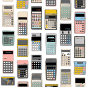Cal Q. Lator* || math science geek chic nerd menswear computer digital calculators outdated technology
