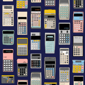 Cal Q. Lator* (Jackie Blue) || math science geek chic nerd menswear computer digital calculators outdated technology
