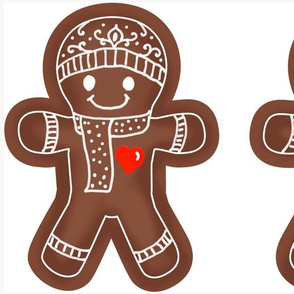 Gingerbread Man DIY doll