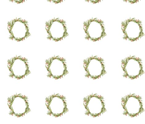 Rrgumleafwreath_greenpink_7inch_width_4inch_spacing_shop_preview