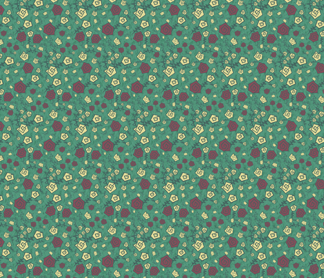 Flores | Flowers #V1 fabric by vivicheruti on Spoonflower - custom fabric