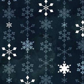 Snowflake Crystal Chain