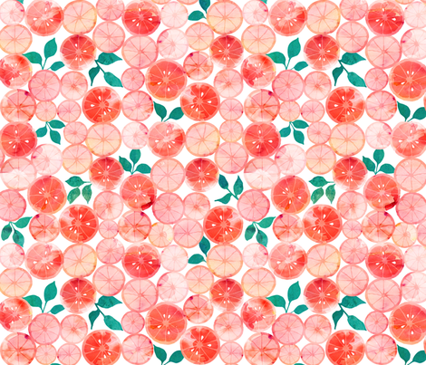 Summer fruit (small) fabric by adenaj on Spoonflower - custom fabric