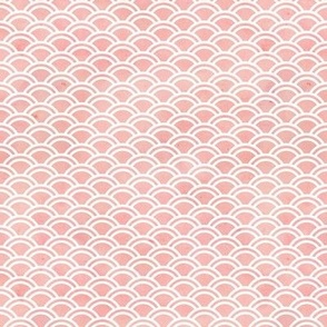 Peach pink watercolor pattern