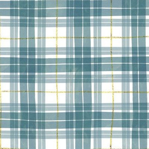 Christmas watercolor plaid 7