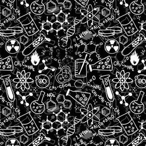 Tiny Black & White Chemistry