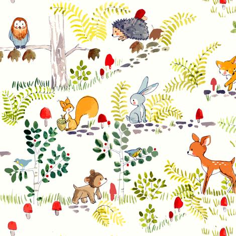 BLANKET fabric by potyautas on Spoonflower - custom fabric