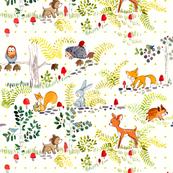 woodland greendots