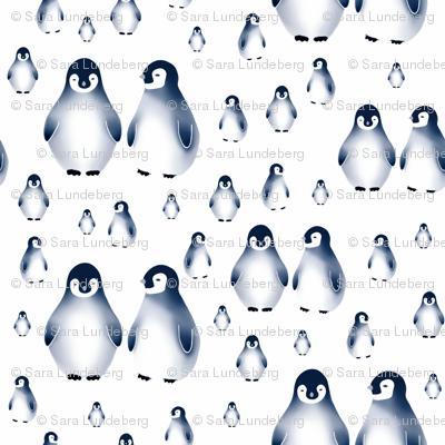 Sweet penguins, Blue