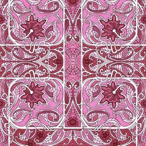 Pink Paisley Thistle Conspiracy