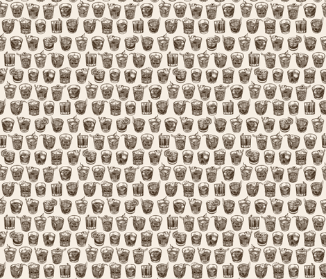 Old Fashioned fabric by missdaisydee on Spoonflower - custom fabric
