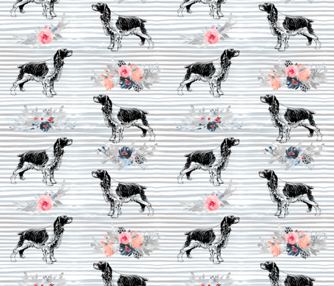 Springer Spaniels fabric by taylor_bates_creative on Spoonflower - custom fabric