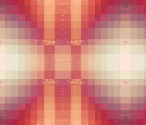 Orange Pink Geometric fabric by a_wandering_soul on Spoonflower - custom fabric