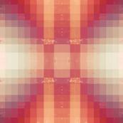 Orange Pink Geometric
