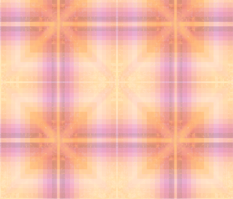 Purple And Peach Gradient fabric by a_wandering_soul on Spoonflower - custom fabric