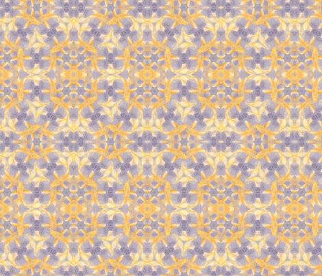 Golden Koi Pattern fabric by a_wandering_soul on Spoonflower - custom fabric