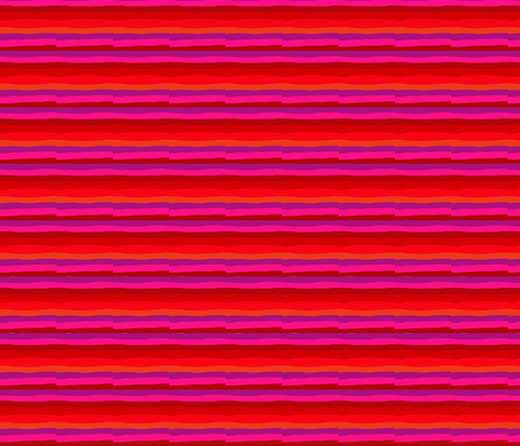 Pink stripe fabric by antipodigital on Spoonflower - custom fabric