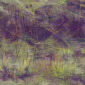 violet spring green landscape