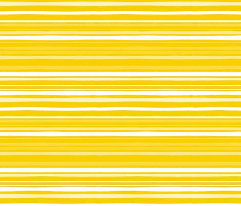 Yellow Stripes [YPC] fabric by onelittleprintshop on Spoonflower - custom fabric