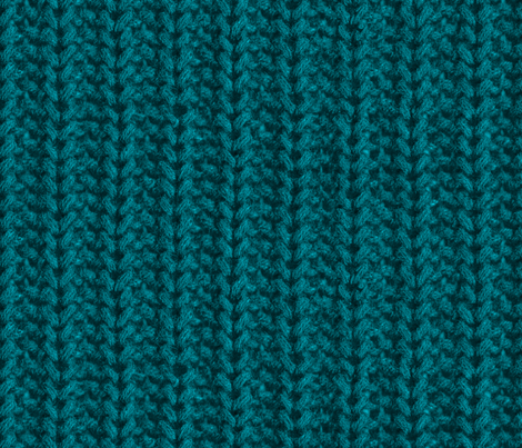 teal sweater texture fabric by victorialasher on Spoonflower - custom fabric