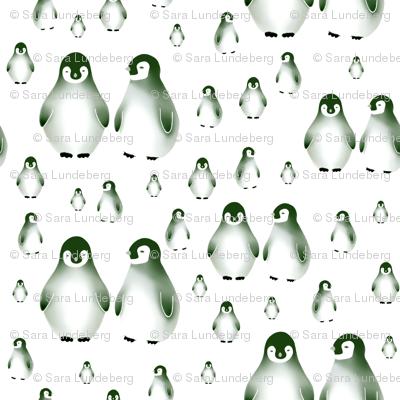 Sweet penguin, dark green