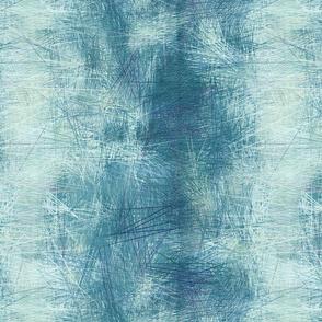 aqua blue landscape