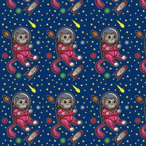 Kitty Cat in Space