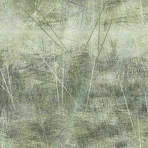 Sage lichen landscape