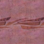 fishing boats pink rose