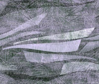 fishing boats plum lavender
