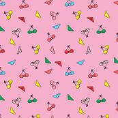 cute bikinis  pink