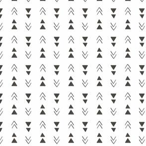 Triangles - White