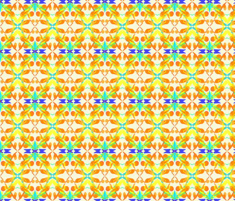 Sun, Sand and a Dash of Water fabric by rhondadesigns on Spoonflower - custom fabric