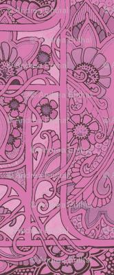 Big Pink Thistle Color Slink