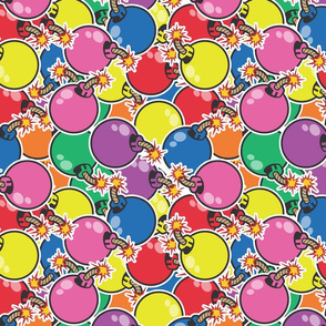 colorful bombs medium
